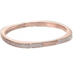 Michael Kors Pave Cushion Hinged Bangle Bracelet